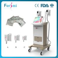 China 3 minutes heating then cooling /Three Handle Size Slimming Machine Cryolipolysis wholesale
