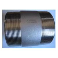 China stainless steel pipe nipples on sale