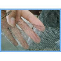 China Plain Weave 316 Stainless Steel Wire Mesh / Grid Mesh Square Hole Fit Sieving wholesale