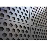 China Metal Building Materials Low Carbon Iron And Stainless and Aluminum Perforated Metal Mesh on sale