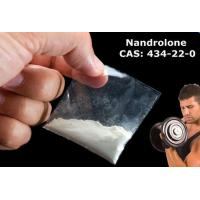 China White Nandrolone Steroids Raw Powder Injectable For Muscle Growth , CAS 434-22-0 wholesale
