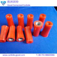 China China boron carbide sand blasting nozzle b4c with with polyurethane cover on sale
