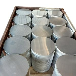 China 1050 HO Mill Finish Aluminium Round Plate For Cookware wholesale