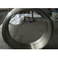 China OD 10 X 1mm Cold Drawn Stainless Steel Coiled Tubing Round Shape High Strength wholesale