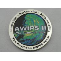 OEM & ODM AWIPS Coin / Zinc Alloy Awards Personalized Coins with Offset Printing, Imitation Cloisonne Enamel