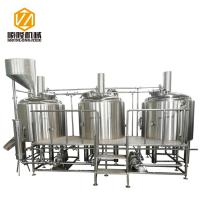 Buy cheap Steam Condenser Exhausting Microbrewery Brewing Equipment , Beer Distillery from wholesalers