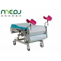 Quality Multiuse Gynecological Examination Table Electric Two Sections With Stirrups for sale