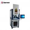 China 7000mm/s Letters Fiber Laser Marking System , Metal Laser Engraving Machine 30W wholesale