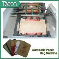 Quality High Speed Paper Bag Forming Machine with Four Colors Flexo Printing for sale