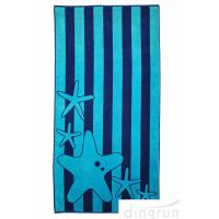 China Superior Luxurious 100% Cotton Velour  and Absorbent Terry Beach Towels wholesale