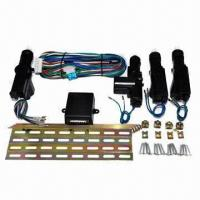 Quality Europe and USA Central Locking System for Cars, with Two Years Warranty and 360° Rotating Head for sale