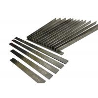 China Woodworking Tungsten Carbide Strips High Precision Grinding With 30 ° Sharp Edge wholesale