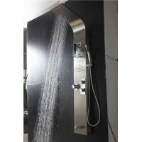 China High Pressure Mixer Switch Wall Mount Shower Panel With Temperature Control wholesale