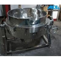 China Steam Heating Tilting Jacketed Kettle 50-1000L (ACE-JCG-Q1) wholesale
