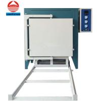 China KSS-1400 Electric Heat Treatment Car bottom furnace for ceramic tiles/pottery on sale