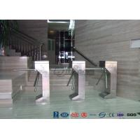 China Vertical Tripod Access Control Turnstiles Semi - Auto Compact For Outdoor wholesale