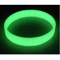 China glowing in the dark silicone bracelet ,glow in the dark wristbands ,luminous  wristband wholesale