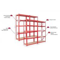 Quality European style 5 tier garage shelving unit boltless shelving for sale