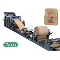 China Professional Manufacturer of Valve Paper Bag Making Machine with PLC Control System wholesale