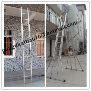 Quality A-Shape Aluminium ladder&ladder&folding ladder for sale