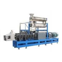 Buy cheap Free formula and installation 2500-3000kgs/h steam type double screw extruder pet food making machine from wholesalers