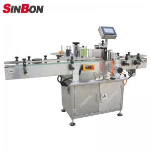 China SINBON Round Bottle Star Wheel Labeling Machine fixed point labeling machine wholesale