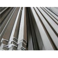 China ASTM 304 Stainless Steel Angle Bars With Polished, Peeled Surface For Petroleum, Chemical Industry wholesale
