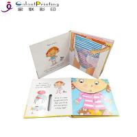 China Educational Die Cutting Custom Hardcover Book Printing Cardboard Touch And Feel Books wholesale
