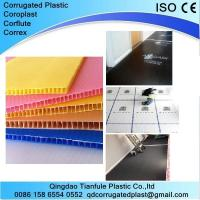 China Corona Treated Corrugated Plastic Sheets on sale