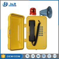China SIP Heavy Duty Telephone Multi Function With Beacon And Horn Outdoor wholesale
