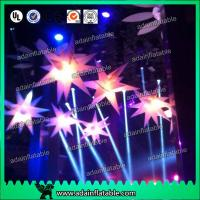 China Illuminating Stage Decoration Inflatable Star/Club Stage Hanging Inflatable Star wholesale