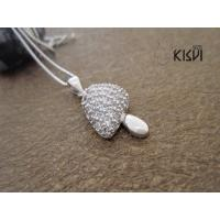 China Fashion Jewelry 925 Sterling Silver Gemstone Pendant with Zircon W-VB960 wholesale