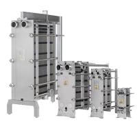 China Rising Film Gasketed Plate Heat Exchanger Electric Stacked Water To Water on sale