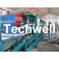China EPS Foam Insulated Sandwich Panel  Making Roll Forming Machine wholesale