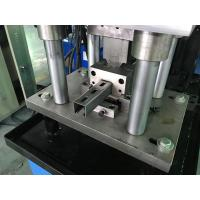 China 1.0 - 1.6mm Guardrail Roll Forming Machine 14 stations By Chain wholesale