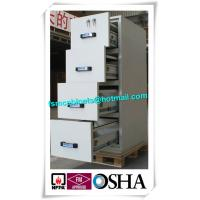 Quality Safety Fire Rated File Cabinets With Separately Mechanical Lock For Laboratory for sale