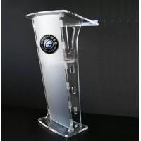 Quality Modern Acrylic Jewelry Display Case And Clear Acrylic Lectern Stand for sale