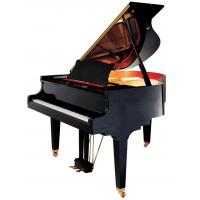 China 166cm Polished Acoustic Grand Piano Concert Pianos with Hydraulic Descent Device AG-GP166 wholesale