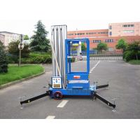 China Aluminium Alloy Single Mast Lift Hydraulic Elevating Platform With 10 M Working Height wholesale