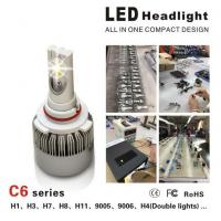 China CE / RoHS Approved Luxeon MZ Car LED Headlight Bulbs 3000LM 3000K - 6000K wholesale