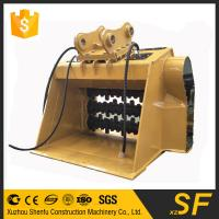 China Construction spare parts of excavator crusher bucket fit for JCB240 on sale