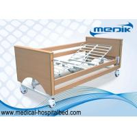 China Easy Assembly Hospital Profiling Bed Adjustable Height For The Elderly wholesale