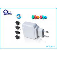 China Qualcomm Quick Charge Iphone USB Charger With 5V 2.1A Detachable Power Adapter wholesale