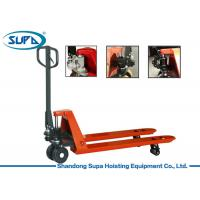 China 180*50mm Rear Wheel Hydraulic Hand Pallet Truck , Pallet Pump Truck SGS Certification wholesale