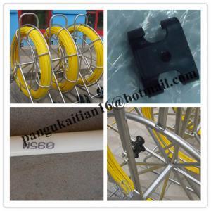 Quality Fiberglass duct rodder,duct rodder,Duct rod,Fiberglass push pull for sale