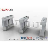 China Automatic Pedestrian Swing Gate RFID Card Reader Infrared Sensor Security Turnstile wholesale