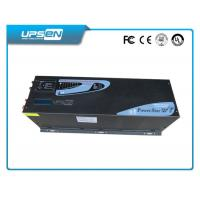 China Sinusoidal Solar Power Inverter 3 Steps Charging Low Battery Alarm on sale