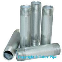 China malleable iron pipe fittings Nipple wholesale