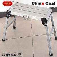 China CE EN131 certificated Aluminum foldable telescopic working platform YM201 for sale wholesale