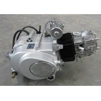China Siver Color Motorcycle Engine Assembly , 50CC Motorcycle Engine Manual Clutch on sale